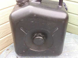 Grey Waste water container.