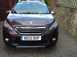 Peugeot 2008, Allure. 2013 (13) Brown Hatchback, Manual Diesel, 73,000 miles