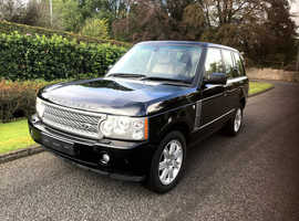 Land Rover Range Rover, 2006 (06) Black 4x4, Automatic Diesel, 99,120 miles