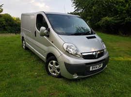 Vauxhall Vivaro Sportive 2014 SWB 2l CDTI 6 Speed Panle Van