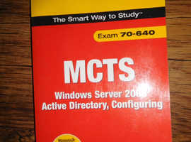ExamCram - MCTS - Exam 70-640 Book - very good condition