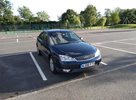 Ford Mondeo, 2006 (06) blue hatchback, Manual Petrol, 128,227 miles