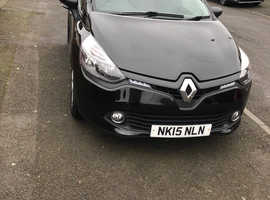 Renault Clio, 2015 (15) Black Hatchback, Manual Petrol, 31,621 miles
