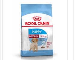 Royal canine medium puppy food 15kg