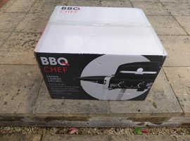 BBQ Chef, Darwin 2 burner gas grill, brand new in box.