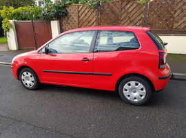 Volkswagen Polo, 2007 (57) Red Hatchback, Manual Petrol, 120,000 miles