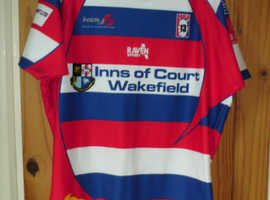 WAKEFIELD RUGBY LEAGUE JERSEY  XLARGE
