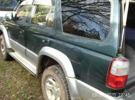 Toyota 4runner, 1996 (N) green 4x4, Automatic Diesel, 216000 miles