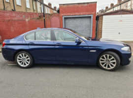 BMW 5 Series, 2011 (11) Blue Saloon, Automatic Diesel, 144,325 miles