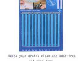 12 Pcs Pipeline Bathtub Drain Sink Deodorant Stick