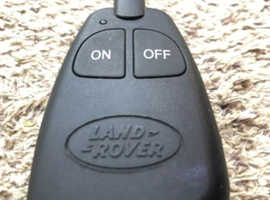 Land rover webasto remote
