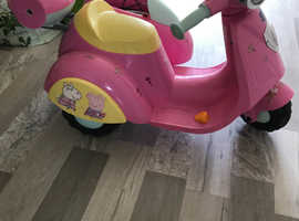 Peppa pig electric scooter