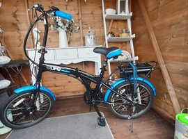 Electric folding bike (e-life infusion)