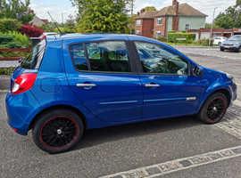 Renault Clio, 2011 (11) Blue Hatchback, Manual Petrol, 43,000 miles