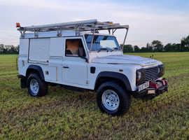 Land Rover Defender 110 2.4 Puma Factory Special Vehicles built Utility Wagon. Ideal work truck or Overlander Camper Conversion 1 Owner #387