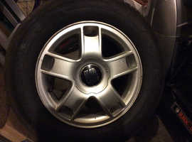 "4 x 15"" Alloy wheels and tyres to fit VAG vehicles"