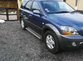 Kia Sorento, 2007 (57) Blue Hatchback, Automatic Diesel, 130,000 miles