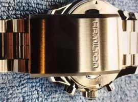 Hamilton Khaki Field Telemeter Automatic Chronograph.