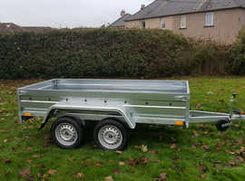 BRAND NEW Trailer 8,7 x 4,2 flat double axle £970