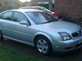 Vauxhall Vectra, 2004 (04), SXI Silver Hatchback, Manual Petrol, 111,000 miles