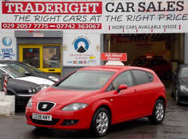 Seat Leon, 2008 (08) Red Hatchback, Manual Diesel, 83,626 miles