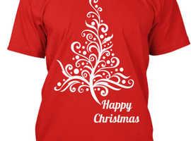 Fabulous Festive/ Christmas  Tee  Shirts