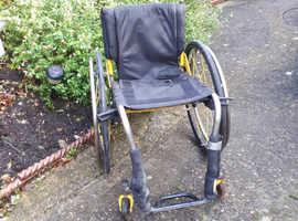 Rgk lightweight wheelchair