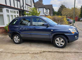 Kia Sportage, 2010 (10) Blue Estate, Manual Petrol, 96,000 miles