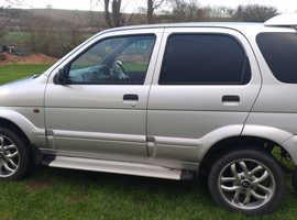 Daihatsu Terios, 2005 (05) Silver Hatchback, Automatic Petrol, 96,363 miles