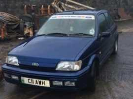 Ford Fiesta RS1800 Mreg collectors project