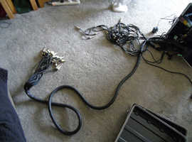 33 way trs to trs ( balanced snake cable 17feet long