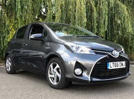 Toyota Yaris, 2016 (66) grey hatchback, Cvt Hybrid, 21200 miles