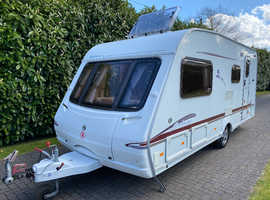 Swift Archway Barnwell L 4 berth 2005 Caravan with Side Dinette and Motor Movers