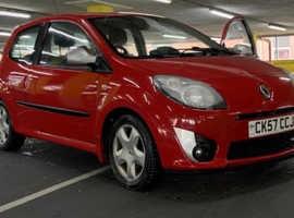 Renault Twingo, 2007 (57) Red Hatchback, Manual Petrol, 81,342 miles