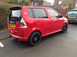 Daihatsu Yrv, 2003 (03) Red Hatchback, Automatic Petrol, 128,369 miles