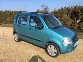 Suzuki WAGON R+, 2001 (51) Metallic Green, Automatic Petrol, 32,735 miles