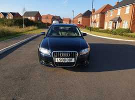 Audi A4, 2008 (08) Blue Estate, Cvt Diesel, 130,258 miles