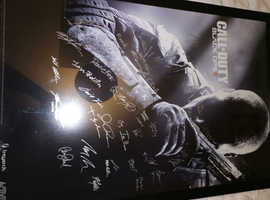 Black opps poster signed