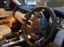 Land Rover Range Rover, 2009 (59) Grey Estate, Automatic Diesel, 122,000 miles