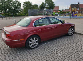 £1450 Jaguar S-TYPE, 2004 (54) Red Saloon, Automatic Diesel, 115,684 miles