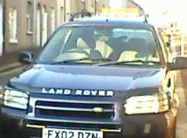 Land Rover Freelander, 2002 (02) Blue Estate, Manual Petrol, 121,630 miles