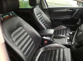 Volkswagen Passat, 2012 (12) Blue Saloon, Manual Diesel, 79,994 miles