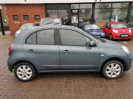 Nissan Micra, 2011 (11) Grey Hatchback, Manual Petrol, 65,509 miles