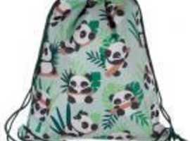 PANDA HANDY DRAWSTRING BAG
