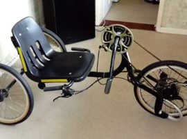 Disabled hand cycle
