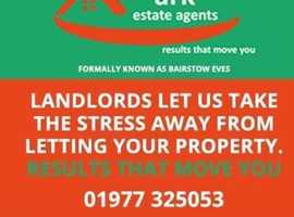 Landlords WANTED more properties needed to meet DEMAND