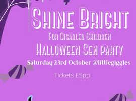 Shine Bright SEN Halloween party