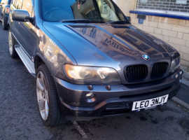 BMW X5, 2003 (03) Grey Estate, Automatic Diesel, 132,328 miles