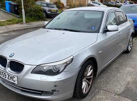BMW 5 Series, 2009 (59) Silver Saloon, Automatic Diesel, 156,785 miles