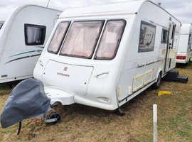 Compass Pentara Anniversary 524, 4 Berth Caravan plus Awning and more included